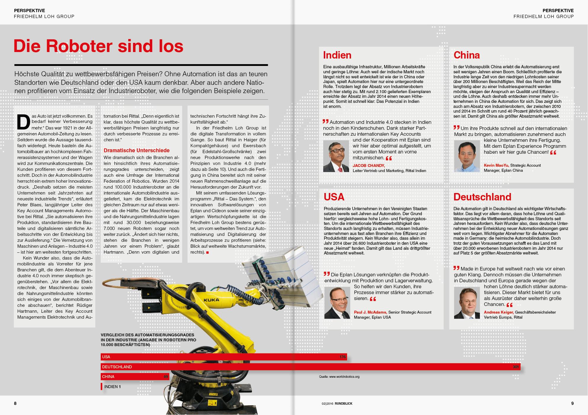 Friedhelm Loh Group/employee magazine